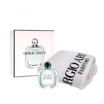 Giorgio Armani Lote ACQUA DI GIOIA Eau de parfum Vaporizador 100 ml + Toalla