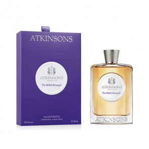 Atkinsons THE BRITISH BOUQUET Eau de toilette Vaporizador 100 ml
