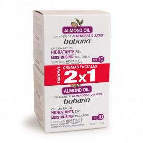 Babaria ACEITE DE ALMENDRAS Crema Facial Hidratante