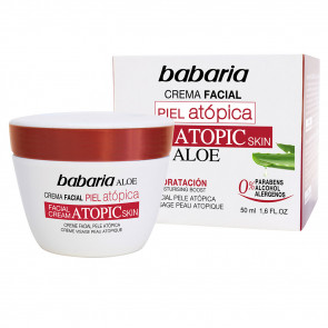 Babaria ALOE Crema Facial Piel Atópica 50 ml